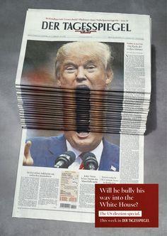 Der Tagesspiegel / Trump
