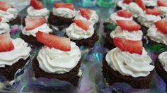 Mini naked cakes floresta negra!!!