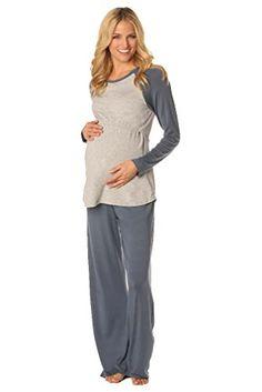 Majamas Pastime Maternity Nursing Lounge Pajama Set