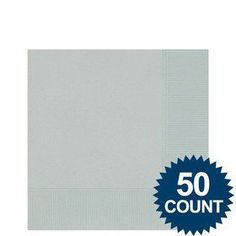Celebrate your party with solid colored napkins and birthday party supplies. Find amazing selections and prices on all birthday party decorations & supplies at Birthday in a Box. Birthday Supplies, Party Supplies, Birthday Party Decorations, Birthday Parties, Birthday Box, Beverage Napkins, Tableware, Silver, Color