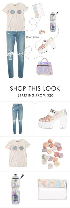 """Sem título #720"" by tabata-sachetti ❤ liked on Polyvore featuring Levi's, Victoria's Secret, ban.do and Kara"