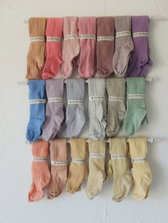 2-3 YEARS HAND DYED baby tights in a range of by YouAreSmall