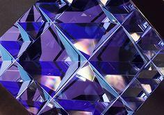Prismatica: Geometric Crystal Animation by Kit Webster   Inspiration Grid   Design Inspiration