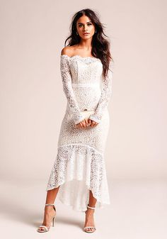 Bridal Shower Dress Casual White Lace Ideas For 2019 Pregnant Wedding Dress, Cheap Wedding Dress, Boho Wedding Dress, Wedding Dresses, Lace Wedding, Wedding Rings, Gala Dresses, Casual Dresses, White Bridal Shower Dress