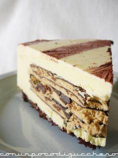 Con un poco di zucchero...: La Mia Sfida..e il vincitore! Bakery Recipes, Cooking Recipes, Cocktail Desserts, Icebox Cake, Pastry Cake, Pie Dessert, Sweet Cakes, Sweet And Salty, Cheesecake
