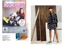 Leather Visor | Larissa Hadjio larissahadjio.com