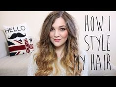 Love this girl. Big Messy Curls, I Covet Thee, Body Hacks, Style Me, Hair Beauty, Body Tips, T Shirts For Women, Hair Tutorials, Long Hair Styles