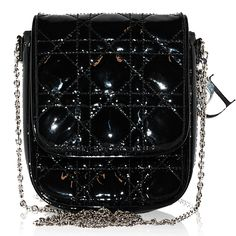 Christian Dior Black Patent Small Crossbody http://www.consignofthetimes.com/product_details.asp?galleryid=7264
