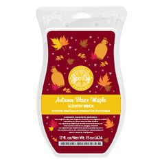 A bountiful harvest of crisp apples and earthy pumpkins with golden maple syrup, warm cinnamon, and a ribbon of smoldering oak.