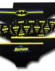 Batman Black & Yellow Women's Panty 3-Pack