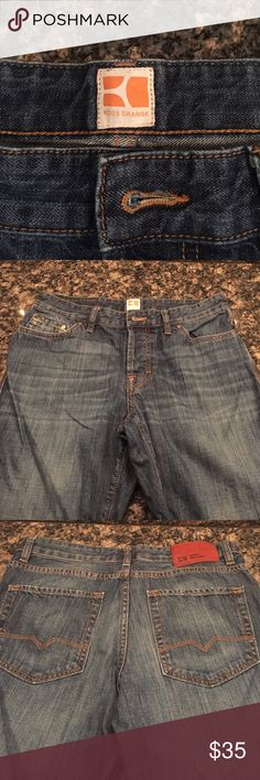 Used Hugo Boss Orange Label Used, a couple of times. Hugo Boss Orange Label. Size 32 by 32 Men's Hugo Boss Jeans Straight