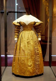 Victoria revealed: Her Privy Council dress. For a long time a woman with this figure and in this dress was the most powerful human on the planet.