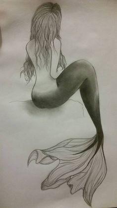 Mermaid sketch mermaids mermaid sketch, mermaid drawings и m Mermaid Sketch, Mermaid Drawings, Mermaid Tattoo Designs, Mermaid Tattoos, Fantasy Mermaids, Mermaids And Mermen, Art Drawings Sketches, Easy Drawings, Mermaid Pictures