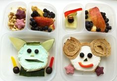 May the force be with your lunch...