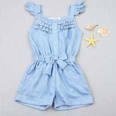 Toddler's Bow knot Ruffle Sleeveless Jumpsuit – DailyBestBuys