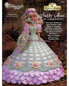 Damen Mode Sally Ann von Charleston Modepuppe von grammysyarngarden