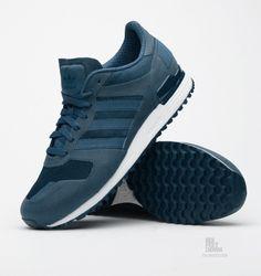 Adidas Originals zx 700 leyenda de tinta / negro / Bliss Pinterest adidas