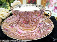 Cup And Saucer Set, Tea Cup Saucer, Vintage Cups, Vintage China, Teapots And Cups, China Tea Cups, My Cup Of Tea, Coffee Set, Afternoon Tea