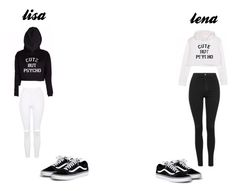 """lisa and lena"" by blah101today on Polyvore featuring Topshop"
