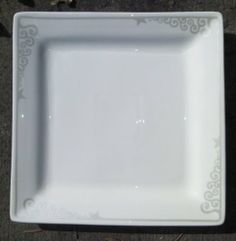 Oneida Winter's Wish Salad Plates Set of 4.  I love the subtle design and modern shape.