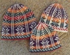 """Kathleen Taylor's Dakota Dreams: Friends and Fiberworks Winter Retreat- Jan Asheville, NC"" I love the fair isle hat Fair Isle Knitting Patterns, Knit Patterns, Knitting Ideas, Irish Crochet, Knit Crochet, Crochet Hats, Intarsia Knitting, Knitting Stitches, Knitted Afghans"