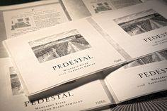 Pedestal Vineyard label design and illustration by Fusebox Design.