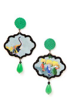 【Anna E Alex】The Passeggiata, Marco Polo Earrings $365
