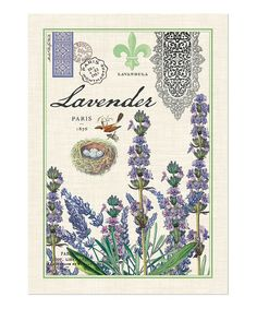 Take a look at this Michel Design Works Lavender & Rosemary Towels - Set of Three by Michel Design Works on #zulily today!