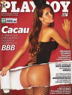Playboy Claudia Colucci, Cacau - BBB10