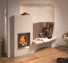 Jetzt Umfrage ausfüllen und ein kostenloses Angebot für deinen Wunschkachelofen erhalten.  Enthalten ist: ✅ Kostenschätzung ✅ 3D-Plan ✅ Beispielbilder 3d, Design, Home Decor, Free Quotes, Fireplaces, Decoration Home, Room Decor, Home Interior Design