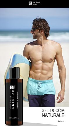 #FMGroup #skinlab #natural #showergel #forhim #formen #pourhomme #summer #beach #estate #fmgroupitalia #boys #gel #doccia #surf #enjoy