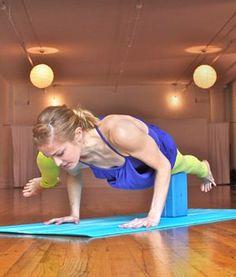 Master the Split-leg Arm Balance Pose