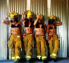 us female firefighters are hot too - Repinned by #FiremanFitCoach