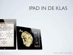 Een sterk verkorte versie van een sessie over de iPad in de klas. (Filmpje)