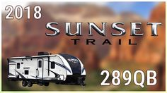 2018 CrossRoads Sunset Trail Super Lite 289QB Travel Trailer RV For Sale Hamiltons RV Outlet Explore this 2018 Sunset Trail Super Lite 289QB and more at http://ift.tt/2yiZshR or call Hamiltons RV today at 989-702-2735!  Gear up for family fun with this 20