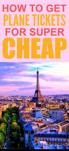How these people got tickets to Paris for super cheap is CRAZY! I'm so happy I found this GREAT tip! Now I can get plane tickets on a budget! Definitely pinning for later!