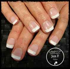 SlickPour French nail art