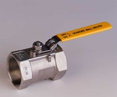 Voyager stainless steel ball valve
