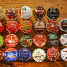 23 K-Cups, Ranked By A World-Class Barista ThrillistDecember 2014 By: Dan Gentile Which Keurig K-Cup dominates in this world-class champion barista taste test? Coffee K Cups, Coffee Pods, Coffee Drinks, Coffee Beans, Keurig Recipes, Coffee Recipes, Drink Recipes, K Cup Flavors, Best K Cups