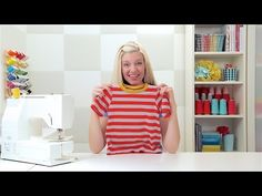 Step-by-Step: How to Sew a T-Shirt - YouTube