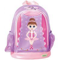 Bobble Art Ballerina Small PVC Backpack www.mamadoo.com.au #mamadoo #bags #kidsbackpacks