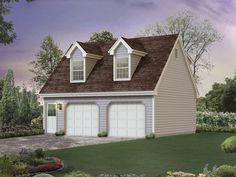 The Justine Creek Studio Garage plan. See details for Plan 002D-7526.