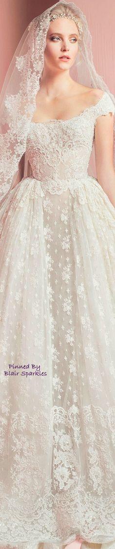 ZUHAIR MURAD BRIDAL 2016 ~ ♕♚εїз | BLAIR SPARKLES |