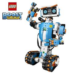 LEGO Boost Creative Toolbox 17101 Fun Robot Building Set and Educational Coding Kit for Kids, Award-Winning STEM Learning Toy Pieces) Stem Learning, Learning Toys, Free Lego, Buy Lego, Shop Lego, Tech Toys, Lego Models, Kits For Kids, Lego Pieces