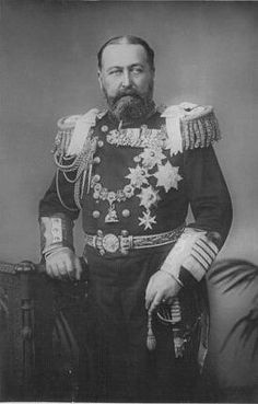 """His Royal Highness Prince Alfred, Duke of Edinburgh, Duke of Saxe-Coburg and Gotha (1844-1900). """"His presence in my house during the last year was a source of no satisfaction or comfort. He came only for moments and, when he did, displeased high and low and made mischief. In short he was quite a stranger to me."""" ~Queen Victoria"""