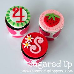 Strawberry Shortcake Party // Strawberry Cupcakes