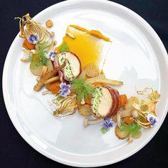Chicken Plating, Cheese Potatoes, Balanced Diet, Fennel, Plated Desserts, Food Plating, Bon Appetit, Food Art, Sweet Potato