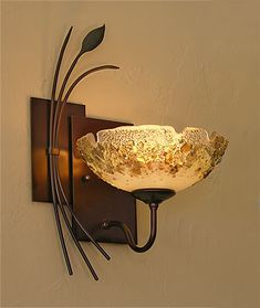 Custom fused etched art glass chandelier lighting fixtures