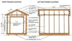Saltbox Shed Plans With Porch Shed Plans 12x16, Wood Shed Plans, Diy Shed Plans, Storage Shed Plans, Storage Shed Designs Ideas, Shed Design Plans, Building A Chicken Coop, Building A Shed, 12x8 Shed