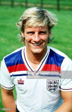 circa 1984 Paul Walsh England and who won 5 England international caps between 19831984
